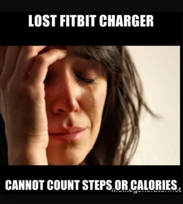What Losing My FitBit Charger Taught Me